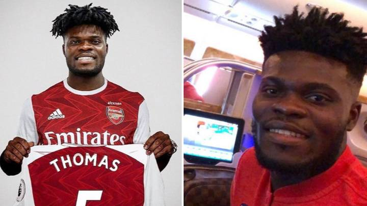 Thomas Partey Signs For Arsenal From Atletico Madrid