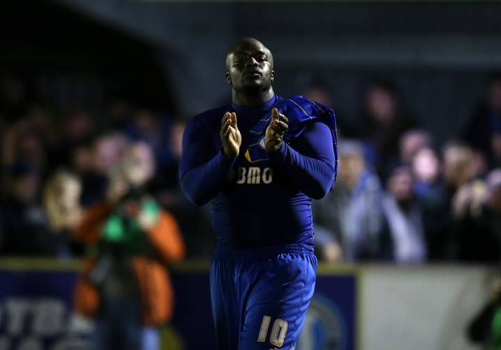 Adebayo Akinfenwa Makes Brilliant Gesture For Young Teammate On Potentially His Last Match