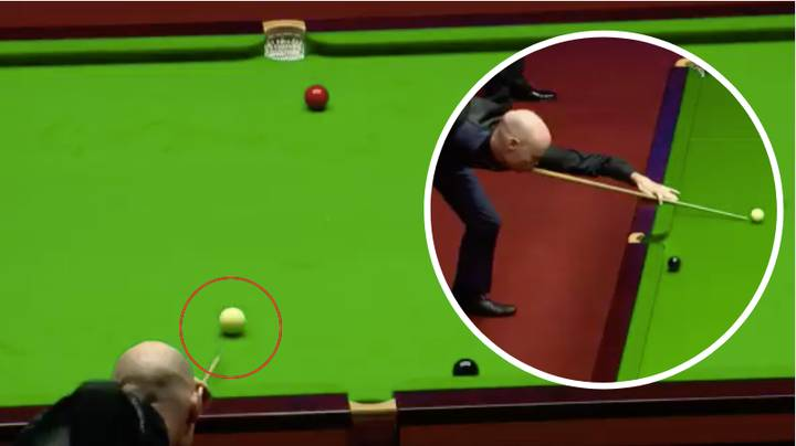 Gary Wilson Produces Arguably The Worst Shot Ever At World Snooker Championship