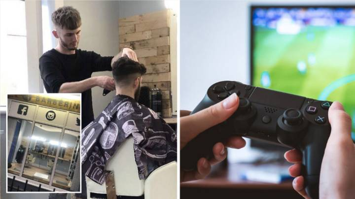 A Barber Shop In The UK Will Give Customers A Free Haircut If They Beat Them At FIFA