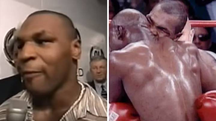 Mike Tyson's Interview Immediately After Biting Evander Holyfield's Ear Was Just Pure Madness