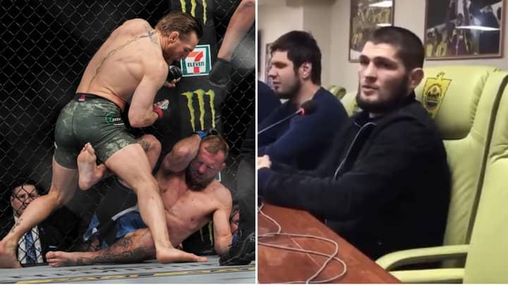 Khabib Nurmagomedov Brutally Trashes Conor McGregor And Donald Cerrone Following UFC 246