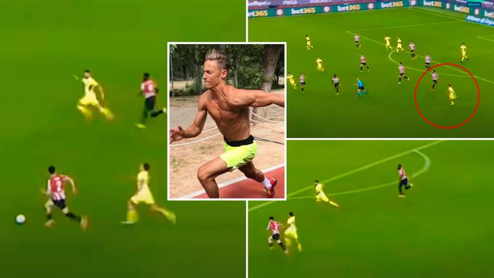Marcos Llorente Smashed La Liga's Speed Record With Heroic 35.4 km/hr Run In The 91st Minute