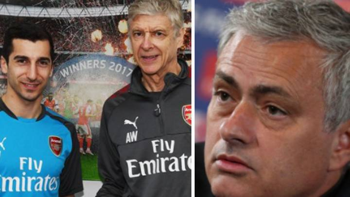 Jose Mourinho Aims Thinly Veiled Dig At Arsenal Over Sanchez-Mkhitaryan Swap Deal