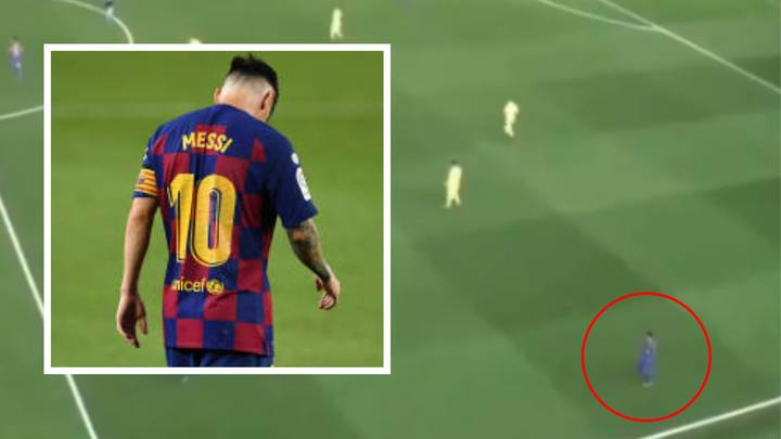 Fascinating Analysis Proves Lionel Messi's Walking Around Is Actually A Brilliant Tactic