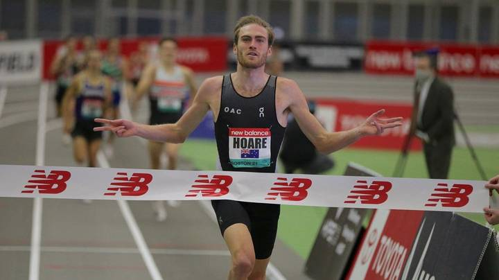 Aussie Olympic Hopeful Oliver Hoare Records One Of The Fastest 1500m Times In History