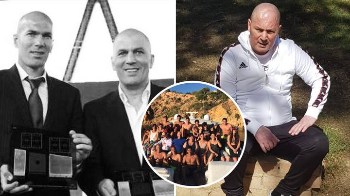Zinedine Zidane Posted An Emotional Tribute To His Big Brother After He Died Of Cancer