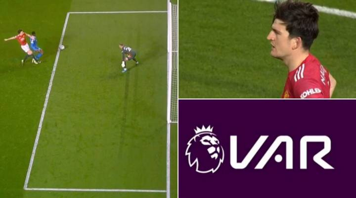 Fans Think Brighton Were Denied Blatant Penalty After Harry Maguire Challenge
