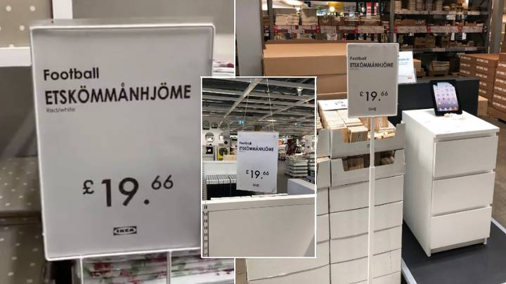 """Someone Has Gone Into IKEA And Changed All The Signs To """"Etskömmanhjöme"""""""
