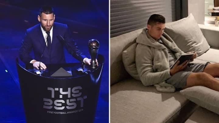 Cristiano Ronaldo's Behaviour Towards The FIFA Best Awards Was So Salty