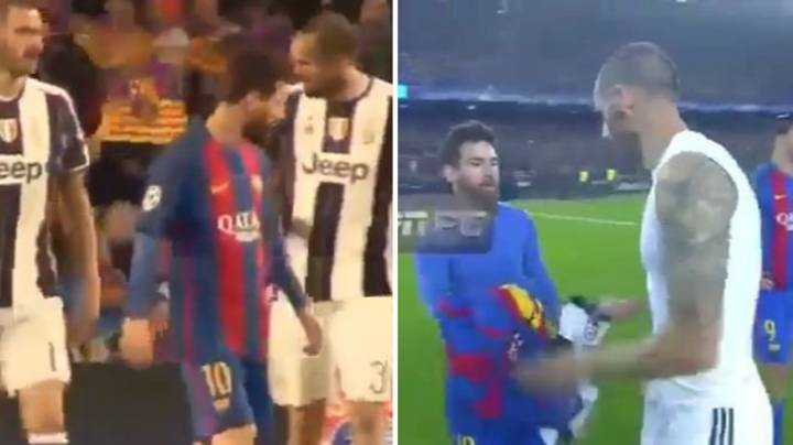 Leonardo Bonucci And Giorgio Chiellini Once Argued Over Lionel Messi's Shirt