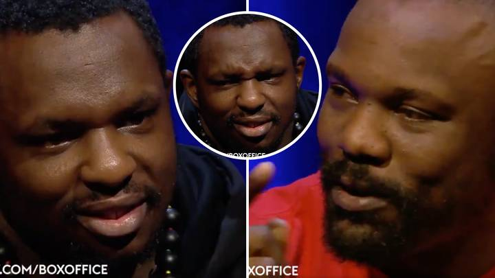 Remembering Dereck Chisora's Hilarious Analogy In His Trash-Talk With A Bemused Dillian Whyte