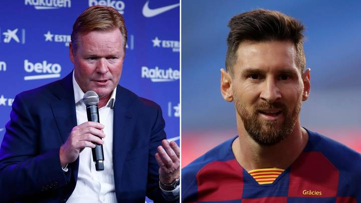 The Exact Phrase Ronald Koeman Used That 'Disrespected' Leo Messi And Prompted Transfer Request