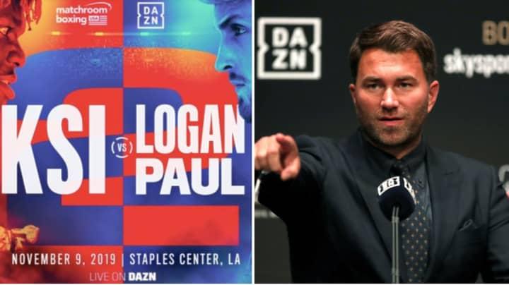 Eddie Hearn Explains Change Of Mind Over KSI Vs Logan Paul