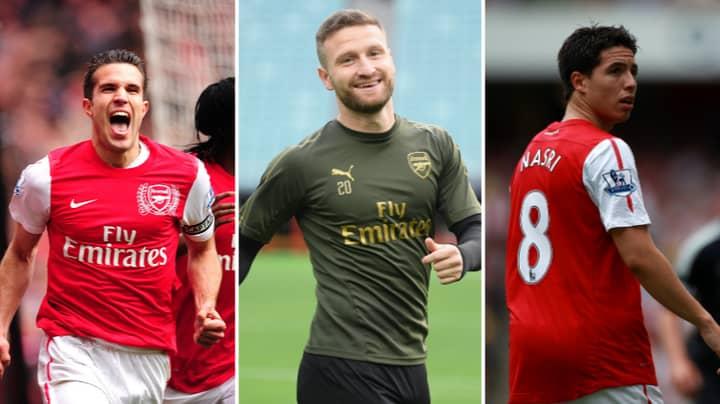 Arsenal's Team Of The Decade Includes Shkodran Mustafi And Samir Nasri