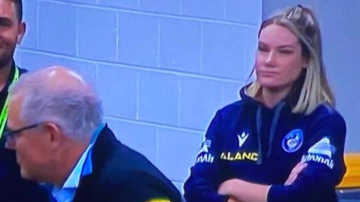 Parramatta Eels Staff Member Speaks Out After Viral Scott Morrison Photo