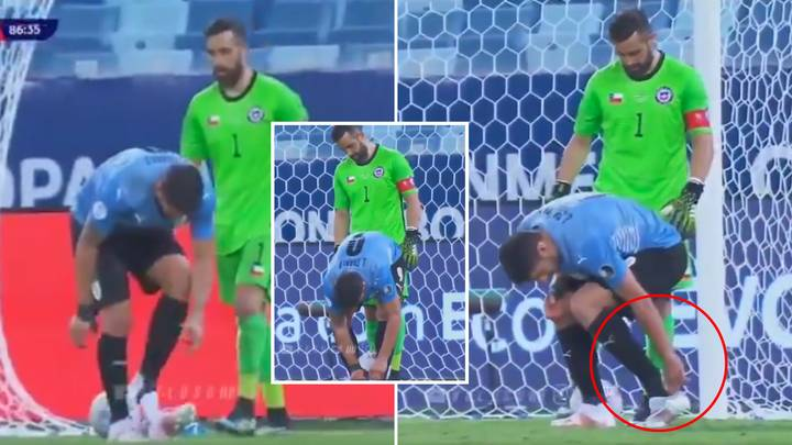 Luis Suarez Has Invented A Genius New Method Of Time-Wasting And It's Peak S**thousery