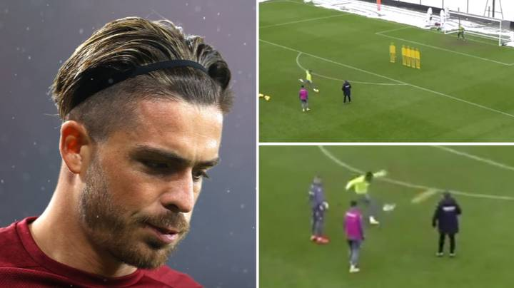 Jack Grealish Casually Sinking Free-Kick After Free-Kick In 90 Second Clip Is Just Magnificent To Watch