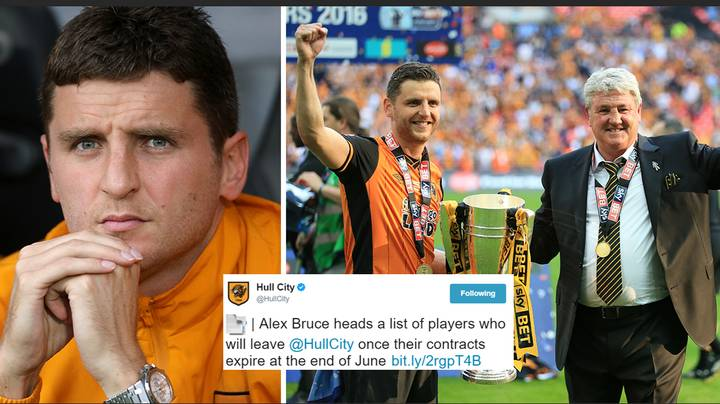 Alex Bruce Finds Out About Being Released By Hull City Via Twitter