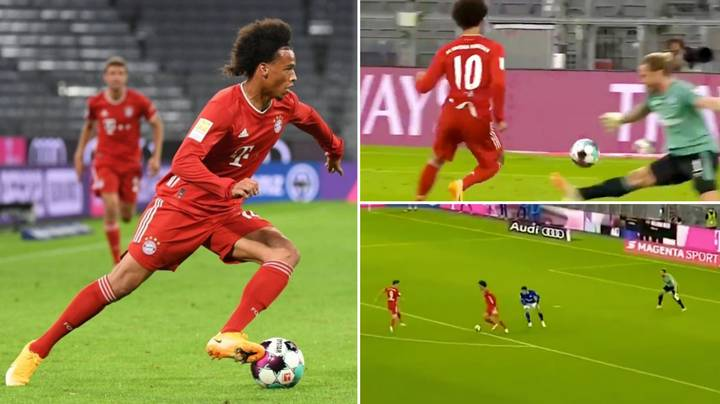 Compilation Of Leroy Sane's Bayern Munich Debut Shows How Good He Is