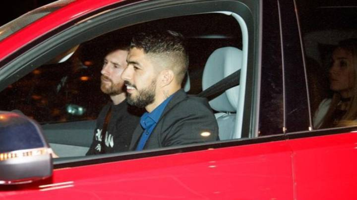 When Luis Suarez Made His Wife Sit In The Back So Lionel Messi Could Ride In The Front