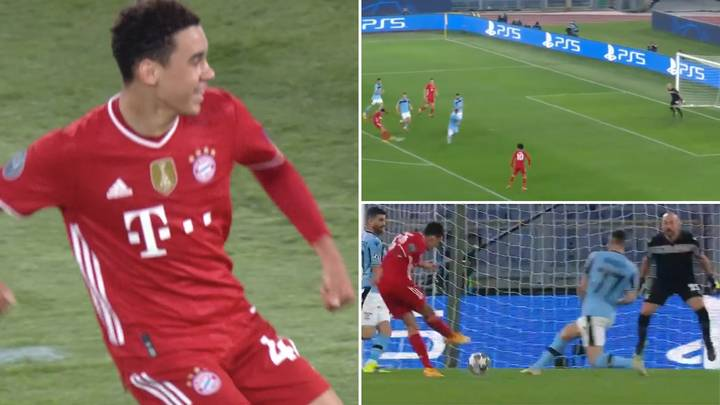 17-Year-Old Jamal Musiala Scores First-Ever Champions League Goal For Bayern Munich