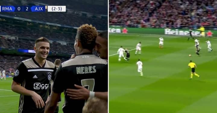 Dušan Tadić Destroys Casemiro In Brilliant Assist Against Real Madrid