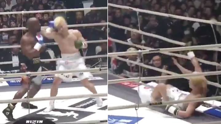 Floyd Mayweather Destroys Tenshin Nasukawa, Drops Him Three Times In First Round
