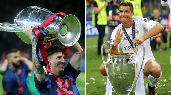 The Ten Players With Most Goal Involvements In Champions League History