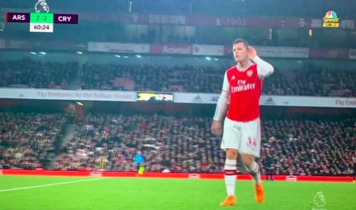 Xhaka Paid Home Visit By Three Senior Arsenal Players Following Palace Draw