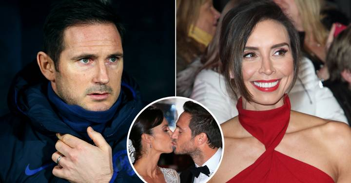 Frank Lampard Admits Going To His Wife Christine To Talk Over 'Football Issues'