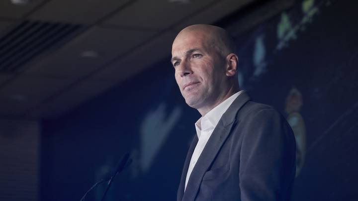Zinedine Zidane Completes First Signing In Second Spell As Real Madrid Boss