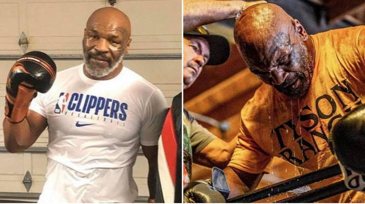 """Mike Tyson Will Be """"Blowing Out His A***"""" During Comeback Fight Against Roy Jones Jr"""