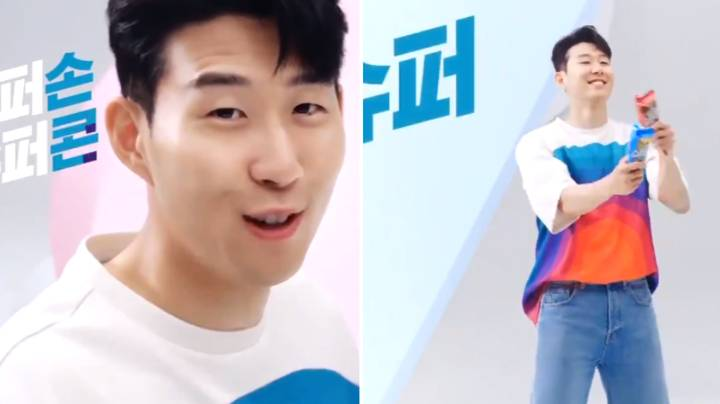 Son Heung-min's Dancing In Ice Cream Advert Is Amazing