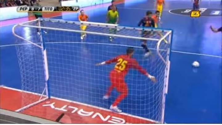 WATCH: Gerard Pique Once Attempted Passing A Penalty