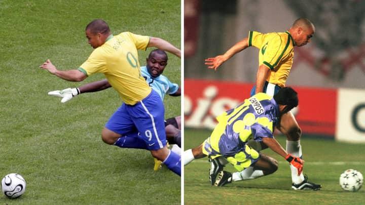 Ronaldo Scored 88 Of His Career Goals By Rounding The Goalkeeper