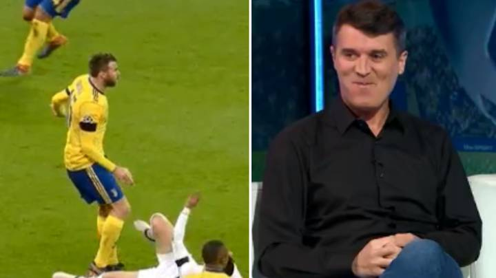 Roy Keane Has The Most Roy Keane Reaction To Barzagli's Stamp
