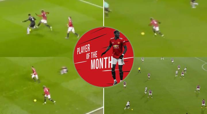 Paul Pogba's 'Unseen' January Highlights Show He's In Best Form Of His Career