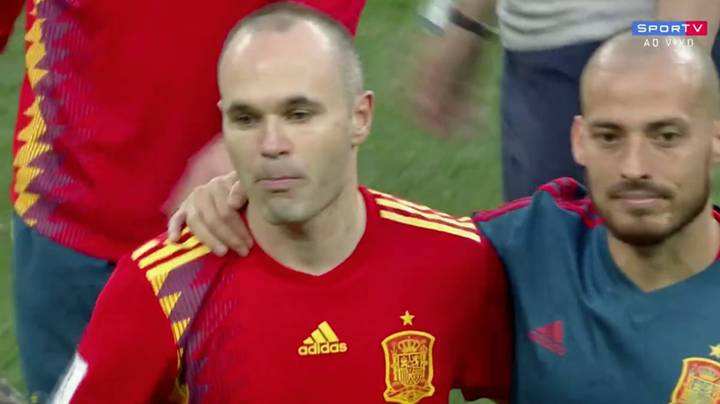 Andres Iniesta In Tears As He Bows Out Of His Last World Cup