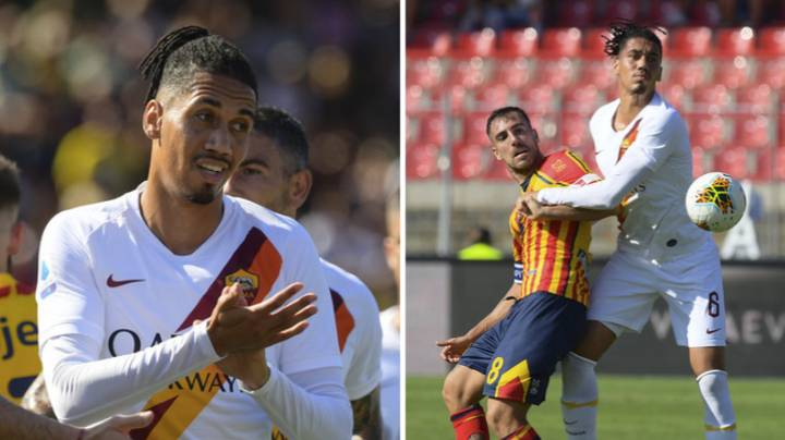 AS Roma Defender Chris Smalling Produces Man Of The Match Performance Vs. Leece