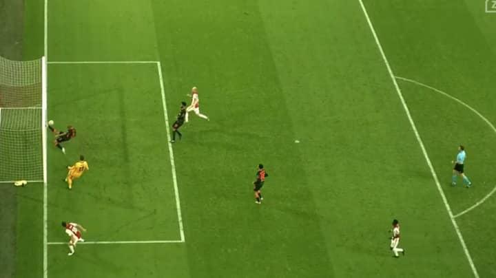 Liverpool's Fabinho Produces Sensational Goal-Line Clearance Against Ajax