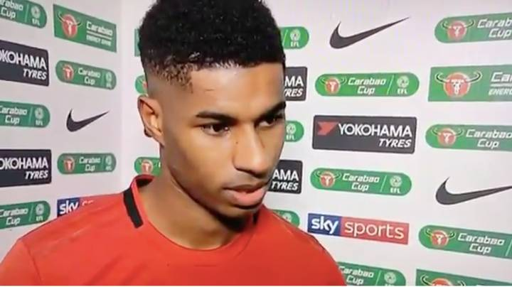 Marcus Rashford Completely Forgot What Competition He Was Playing In After Heroics Against Chelsea