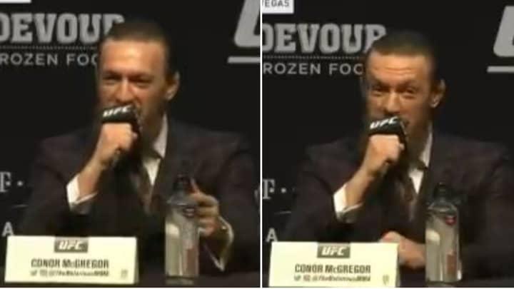 When Conor McGregor Stunned Everyone By Delivering His Most Bizarre, But Brilliant Trash Talk Ever