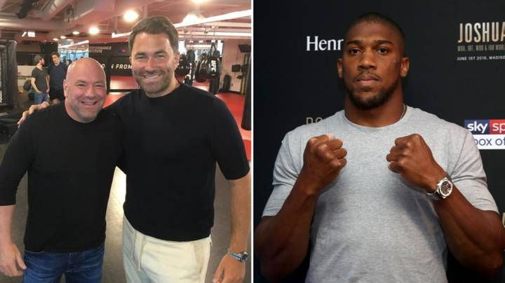 Dana White Shares Details Of Meeting With Eddie Hearn About Anthony Joshua