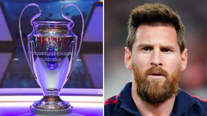 Lionel Messi Snubs Barcelona In His Four Favourites To Win The Champions League