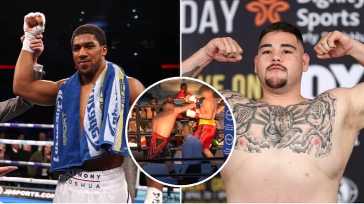 Meet Andy Ruiz Jr, The Man Who's Fighting Heavyweight World Champion Anthony Joshua