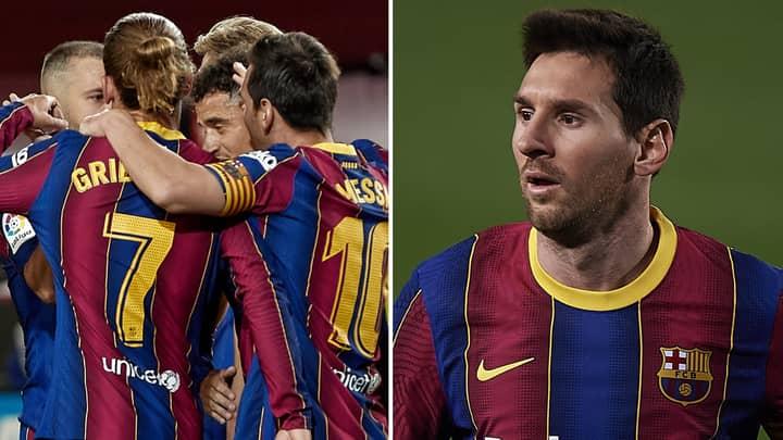 Lionel Messi Has Been Left 'Dejected' After Six Barcelona Players 'Blacklist' Him