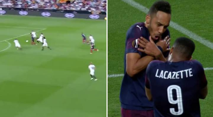Pierre-Emerick Aubameyang Scores Stunning Equaliser With A Filthy Outside-Of-The-Foot Finish