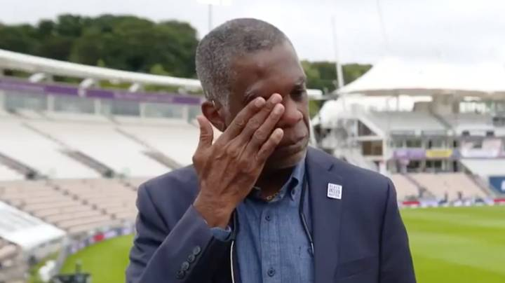 Cricket Icon Michael Holding Breaks Down In Powerful Live TV Interview