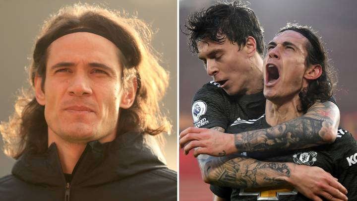 Man United Star Edinson Cavani Breaks His Silence After Receiving Three-Game Ban For Instagram Post